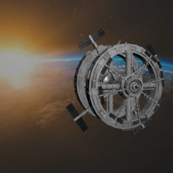 0.png Download 3DS file Space Station • 3D printing model, SimonTGriffiths