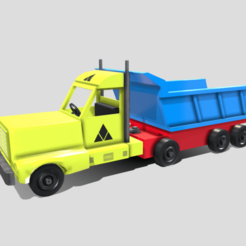 Download STL Toy Truck, SimonTGriffiths