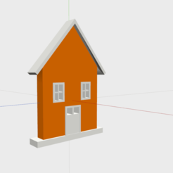 Download free 3D model Gingerbread house, SimonTGriffiths