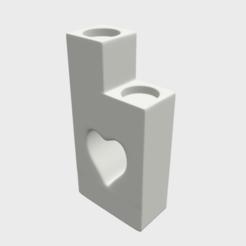 H0.png Télécharger fichier STL Bougie chauffe-plat Coeur • Plan pour imprimante 3D, SimonTGriffiths