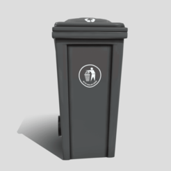 wb0.png Download 3DS file Recycle bin • 3D printer object, SimonTGriffiths