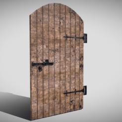 0.png Télécharger fichier 3DS Porte voûtée médiévale • Objet pour impression 3D, SimonTGriffiths