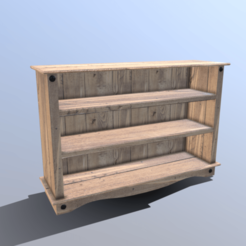 Download 3D printer designs Pine Bookshelf, SimonTGriffiths