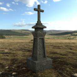 Download 3DS file Medieval Grave Marker • 3D printing model, SimonTGriffiths