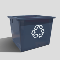 Download 3D printer files Recycle Box, SimonTGriffiths