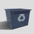 Télécharger modèle 3D Boîte de recyclage, SimonTGriffiths
