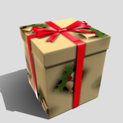Download STL files Christmas Present, SimonTGriffiths