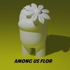 amongflor.jpg Télécharger fichier STL PARMI NOUS - FLEUR • Plan pour imprimante 3D, aprendolol
