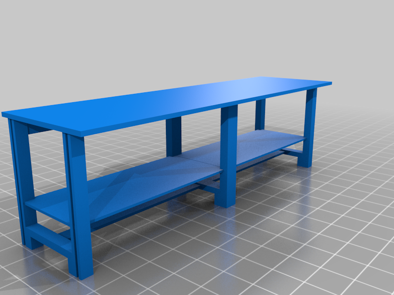 double_workbench.png Download free STL file 40k Necromunda Warhammer Workbench Set • Template to 3D print, 40Emperor