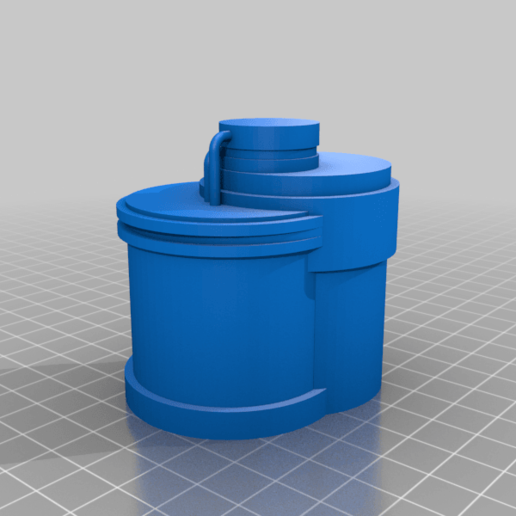 Silo_A.png Download free STL file Wargame Scenery Silo Set - Refinery - Mechanicus • 3D printable object, 40Emperor