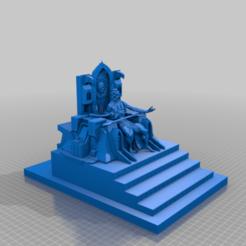 Download free 3D printer files The God Emperor of Mankind + Golden Throne (sort of), 40Emperor