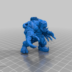 Double_Klaw_Git_Nob.png Download free STL file Ultra Hulky Mega Ork Nob • 3D printable object, 40Emperor