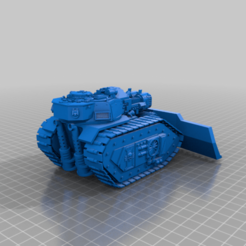 Download free STL files Illegal 40k Plasma Tank, 40Emperor