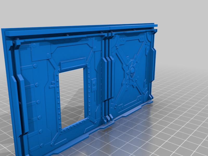 Bulkhead_Wall_04.png Télécharger fichier STL Murs O'Bulkhead en lots ! - Pour les artisans du spectacle • Objet pour impression 3D, 40Emperor