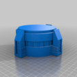Modular_Silo_Base.png Download free STL file Wargame Scenery Silo Set - Refinery - Mechanicus • 3D printable object, 40Emperor