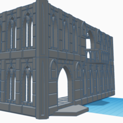 Modular facade.png Download STL file Ultimate Modular Gothic Building Kit - For small printers • 3D printing object, 40Emperor