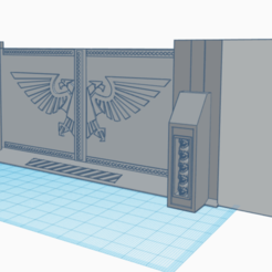 Lukes_Gate_Gang_Gang.png Download free STL file Luke's Gate - 40K • 3D printer object, 40Emperor