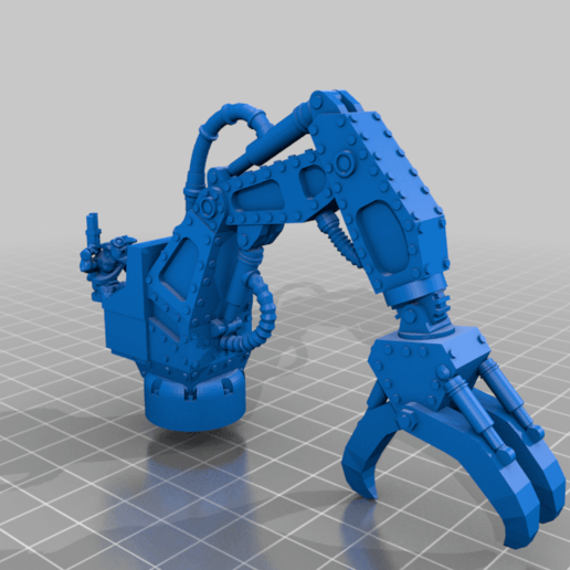 Download free STL file The Gobbo Claw • 3D printable template, 40Emperor