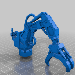 ork_trukk_grabby_klaw.png Download free STL file The Gobbo Claw • 3D printable template, 40Emperor