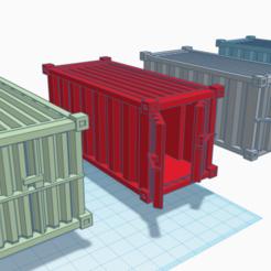Container set 40 Emperor.png Descargar archivo STL El último contenedor de envío para juegos como Warhammer 40k, Necromunda, Kill Team, Infinity y Deadzone. • Diseño para la impresora 3D, 40Emperor