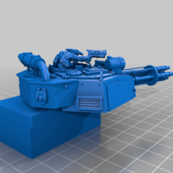 4_Big_shootas.png Download free STL file Battle Wagon Bits • 3D printable object, 40Emperor