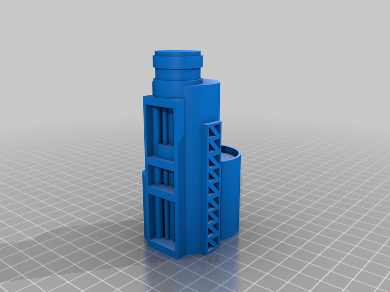 Silo_C.png Download free STL file Wargame Scenery Silo Set - Refinery - Mechanicus • 3D printable object, 40Emperor