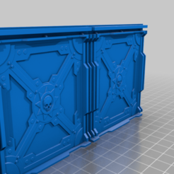 Bulkhead_Wall_02.png Download STL file Batch O'Bulkhead walls! - For Scenic Crafters • 3D print object, 40Emperor