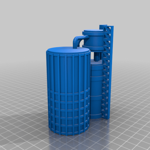 Silo_B.png Download free STL file Wargame Scenery Silo Set - Refinery - Mechanicus • 3D printable object, 40Emperor