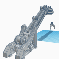Download STL file Industrial Underhive Crane - for games like Necromunda and Warhammer 40k • 3D printing model, 40Emperor