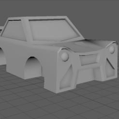 Descargar archivos 3D Coche 3D Low Poly, AdemTekir