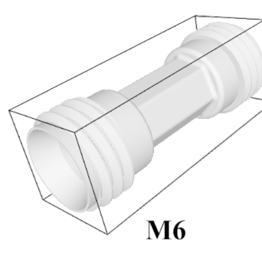 Download free STL file Nut and Ferrule Connector • 3D printable object, mariyapravdivtseva