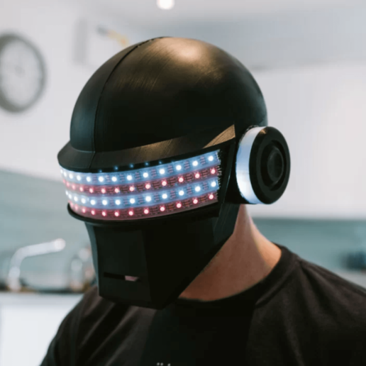 Download free 3D printer designs Disco helmet, Electromaker_Kits