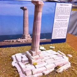 Descargar STL Capo Colonna, Tempio di Hera Lacinia, FreddyeGal