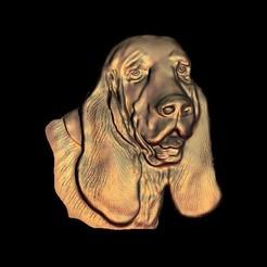 Descargar modelos 3D para imprimir perro Basset Hound, AnimalSTLfiles
