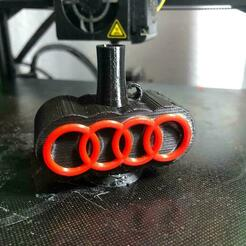 Audi boquiya.jpeg Download STL file Shisha Audi Mouthpiece • 3D printing model, jocanivi