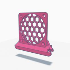 Led_Mod_Fan_Ender3.png Download STL file Led Fan Mod Ender3 by FloLin • 3D printer design, Flo13