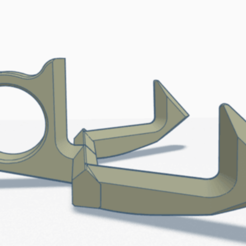 Grabber Handy with 2 hooks by Flo.png Download STL file Grabber Handy with 2 hooks By Flo • 3D printable model, Flo13