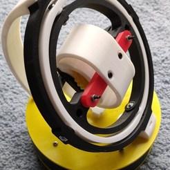 Descargar modelos 3D Bobinador giroscópico / Bobinador de relojes / Bobinador de relojes, aviyahalom