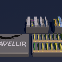 Download free STL file Nidavellir storage • 3D printable model, lenaicdupin