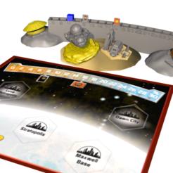 Imprimir en 3D gratis terraformación de marte 3d Venus Siguiente, lenaicdupin