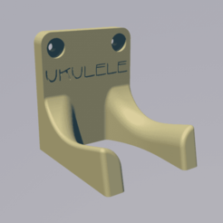 support_ukulele_with_text.png Download free STL file ukulele wall mount • 3D printable object, lenaicdupin