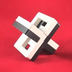 01.jpg Download free STL file THE X PUZZLE • 3D printing design, archetrico