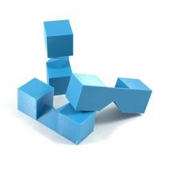 01.jpg Télécharger fichier STL gratuit PUZZLE À TROIS CROIX • Modèle à imprimer en 3D, archetrico