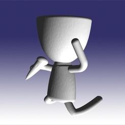 roberto cantante.jpg Télécharger fichier STL en chantant Robert • Modèle imprimable en 3D, fedeagon16