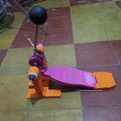 IMG_20200323_151553214.jpg Download STL file pedal de bombo tamaño real y funcional • 3D print model, fedeagon16