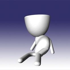 roberto acostao.jpg Télécharger fichier STL robert couché • Objet pour impression 3D, fedeagon16