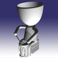 roberto bombisto.jpg Télécharger fichier STL robert bombisto • Objet pour imprimante 3D, fedeagon16