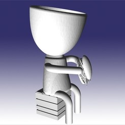 roberto choriplanero.jpg Télécharger fichier STL robert choripanero • Plan pour impression 3D, fedeagon16
