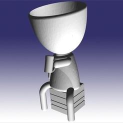 robert cervesero gordo.jpg Télécharger fichier STL brasseur robert • Design pour imprimante 3D, fedeagon16
