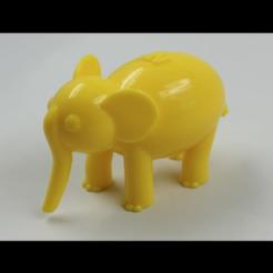 Descargar archivo 3D gratis Elefante NT (NT ANIMAL), NT_Animal